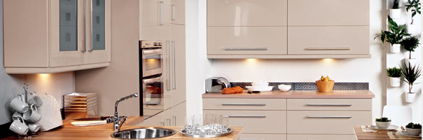 with our extensive range of replacement kitchen doors, we can make your kitchen look 'As-nu'