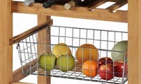 wire baskets for kitchen units